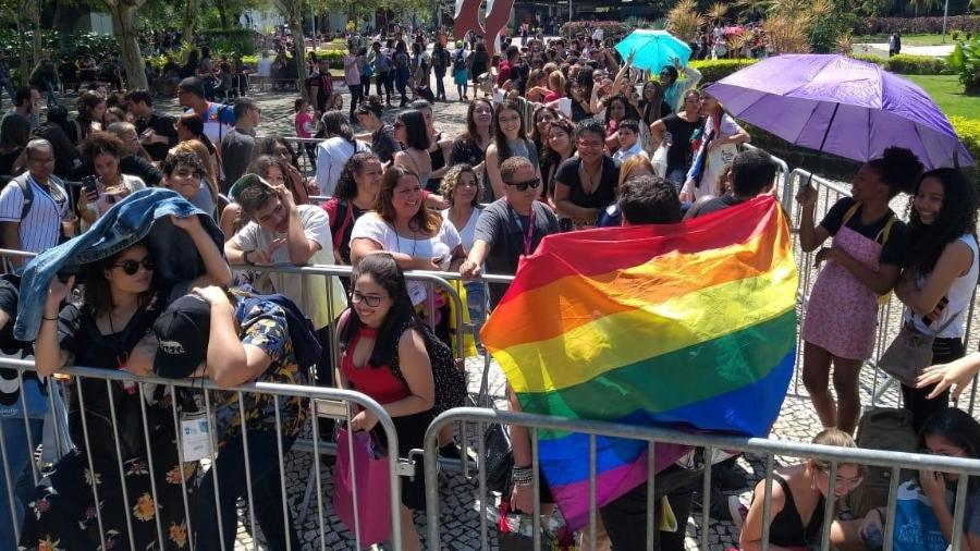 Público LGBTQ+ na Bienal do Rio - Lola Ferreira/ UOL