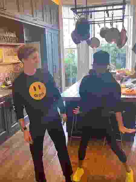 Victoria e Romeo Beckham dançam Spice Girls - Reprodução/Instagram