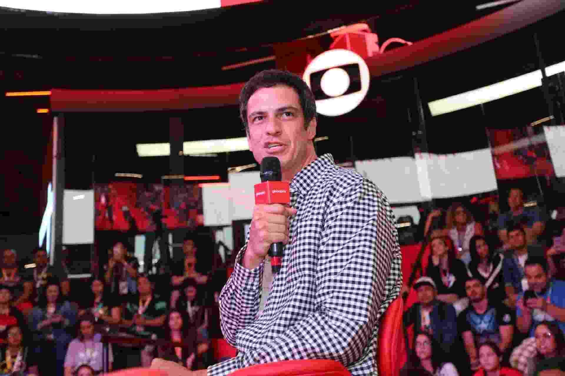 Mateus Solano participou de painel da Globoplay no segundo dia da CCXP 2019 - Amauri Nehn/Brazil News