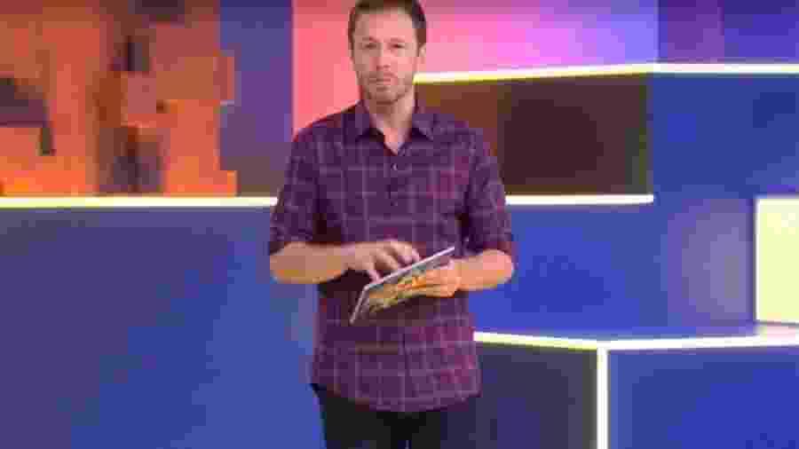 bbb 20: tiago leifert na apresentação do segundo dia de bbb  - Reprodução/TV Globo