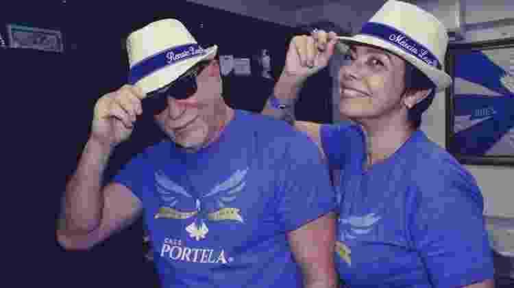 Renato Lage e Marcia Lage foram contratados para assinar o Carnaval da Portela - Amanda Alves / Divulgação