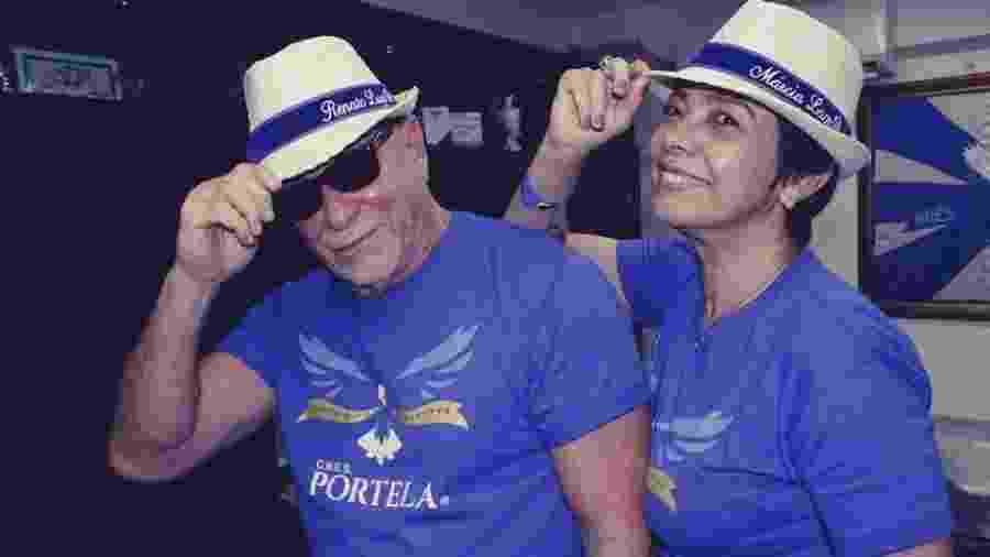 Renato Lage e Márcia Lage, carnavalescos da Portela - Amanda Alves / Divulgação