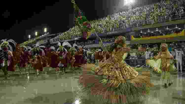 Melhores momentos do desfile da Mangueira - Júlio César Guimarães/UOL