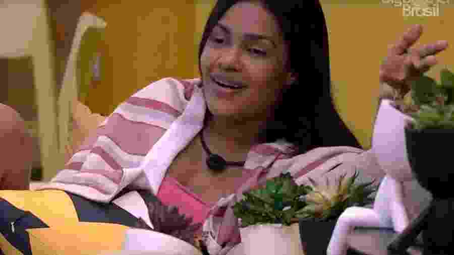 BBB 20: Flayslane fala sobre a vida amorosa - Reprodução/Globo