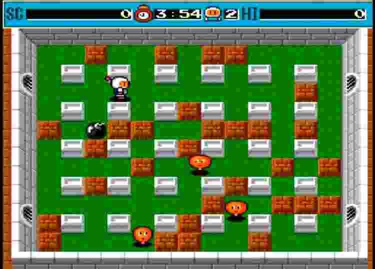 Bomberman (1990) PC-Engine - Reprodução - Reprodução