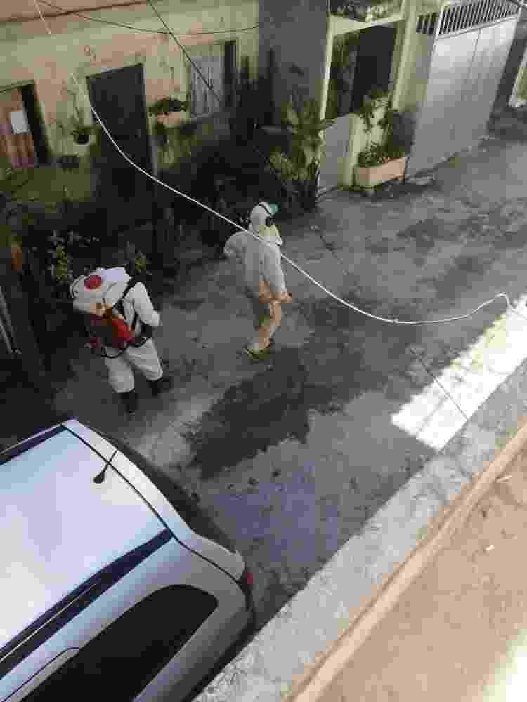 Pulverização nas vilas do Salsa e Merengue, Complexo da Maré, Rio - data_labe - data_labe