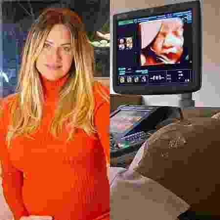 Giovanna Ewbank exibe ultrassom - Reprodução / Instagram