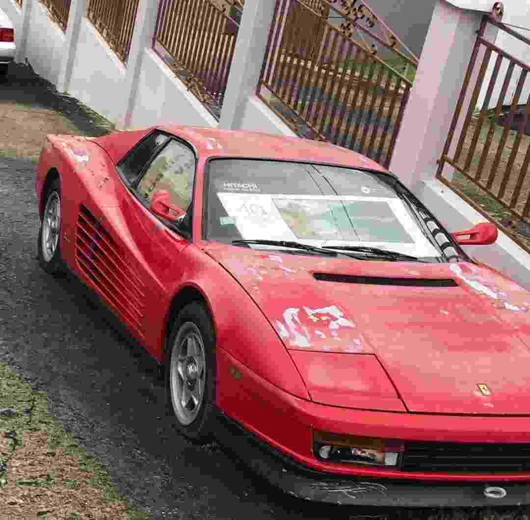 Ferrari Testarossa 1987 Porto Rico Ratarossa Scott Chivers Caçador de Ferraris - Arquivo pessoal