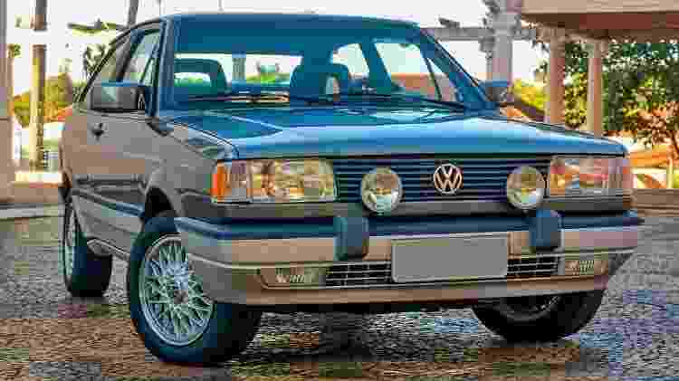 Volkswagen Gol GTI 1993 Cinza Spectrus leilão Joel Picelli R$ 118,5 mil - Divulgação/Picelli Leilões - Divulgação/Picelli Leilões
