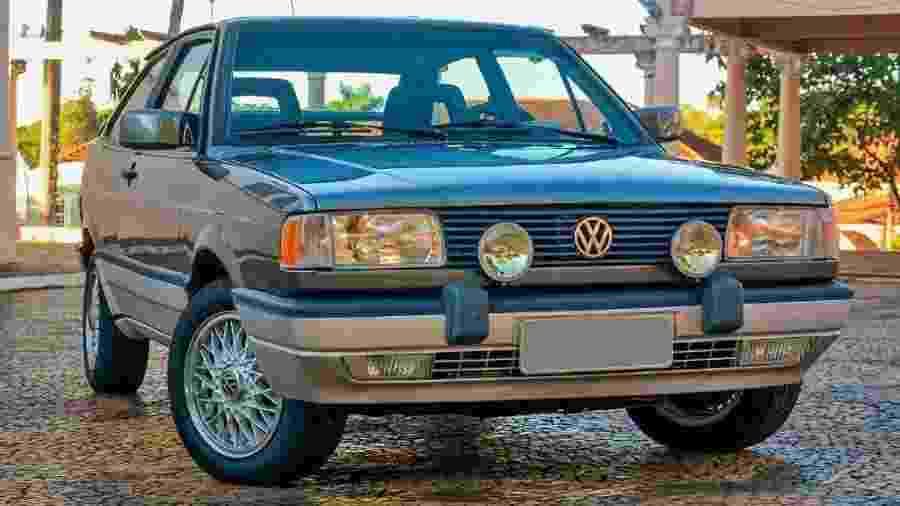 Gol GTI é um um dos carros nacionais mais valorizados da década de 90: o exemplar desta foto foi leiloado por quase R$ 120 mil - Divulgação/Picelli Leilões