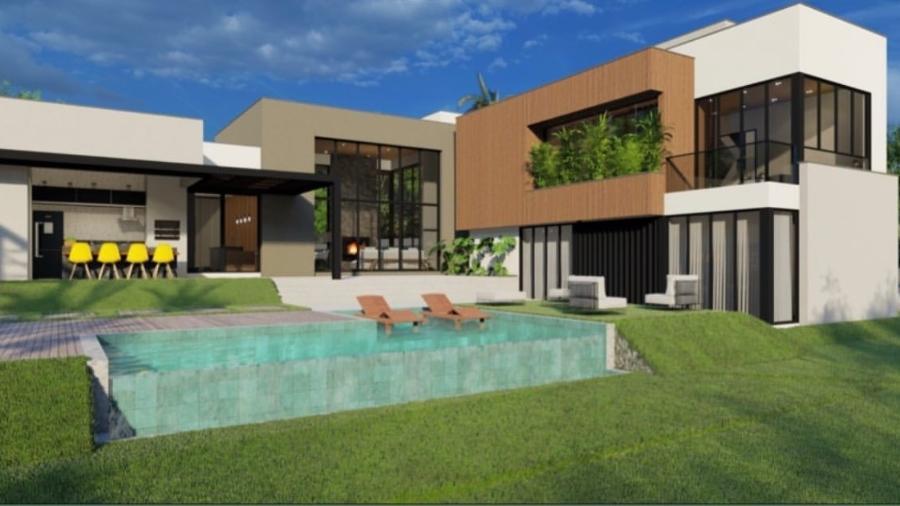 O projeto arquitetônico da casa de Anna Clara Maia e André Coelho - Reprodução/Instagram
