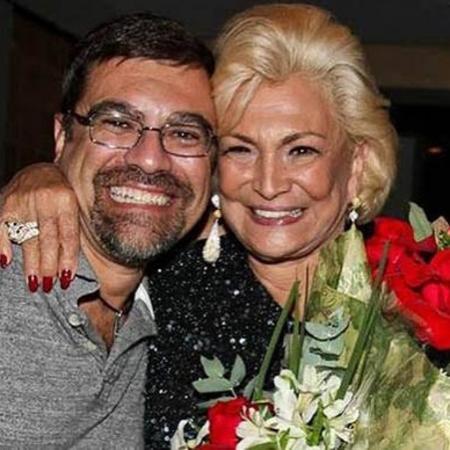 Marcello Camargo e a mãe, Hebe Camargo - Reprodução/Instagram