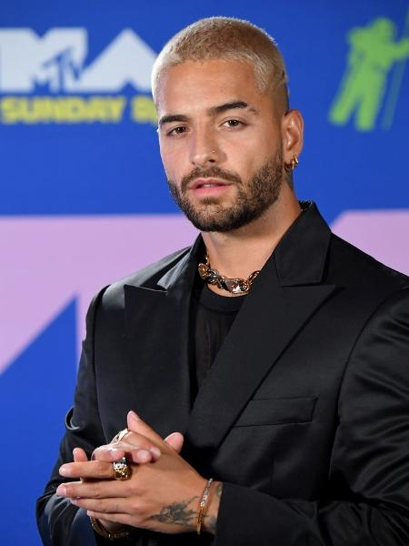 Maluma  - Jeff Kravitz/MTV VMAs 2020/Getty Images for MTV