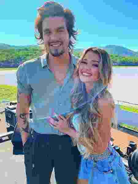 Luan Santana e Franciny Ehlke - Reprodução/Instagram