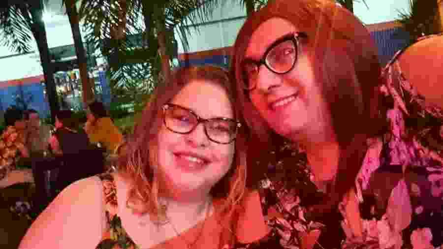 O casal Ligia e Fabris, juntas há 16 anos  - Reprodução/Instagram
