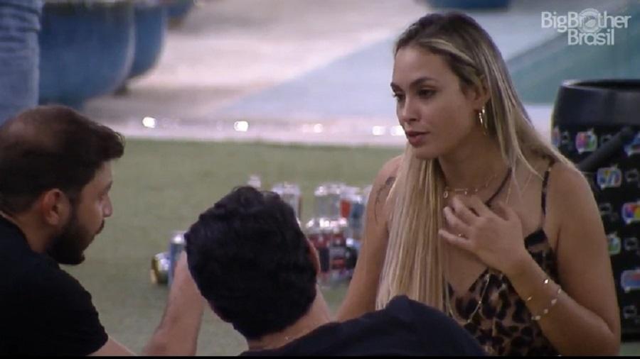 BBB 21: Sarah, Caio e Rodolffo falam sobre casais em reality show - Reprodução/Globoplay