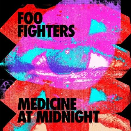 Capa do disco Medicine At Midnight, do Foo Fighters - Divulgação