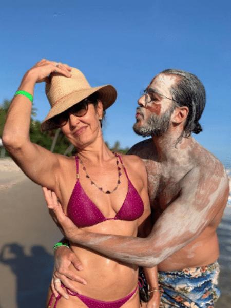 De férias no Recife, Fátima Bernardes mostrou momento descontraído com o namorado, Túlio Gadelha - Reprodução/Instagram