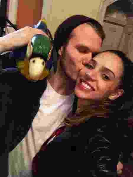 Jessica e o namorado alemão Lukas não se veêm desde janeiro de 2020. - arquivo pessoal - arquivo pessoal