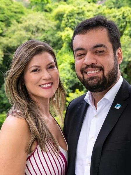 A primeira-dama do Rio Analine Castro está casada com Cláudio Castro desde 2006 - Reprodução/Facebook