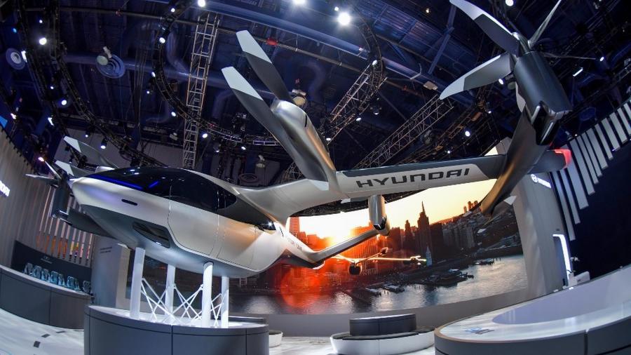 Táxi voador da Hyundai - Divulgação
