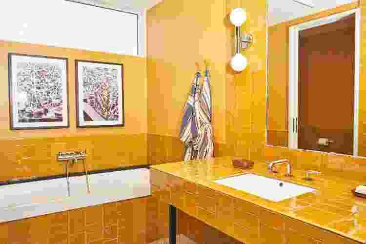 """O Hotel Magdalena também optou por mesclar o kitsch """"para as redes"""" a elementos modernos - Nick Simonite - Nick Simonite"""