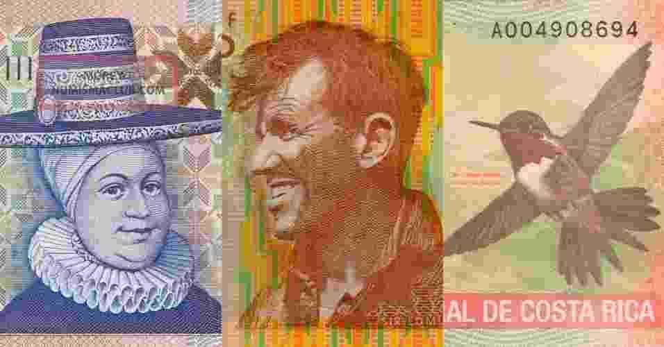 O dólar e o euro são moedas poderosas, mas, concordemos, bem sem graça visualmente. No mundo, diversos países se esforçam imensamente para fazer com que seu dinheiro tenha aparência de obra de arte, trazendo desenhos e cores cheios de estilo. Na próxima foto, conheça algumas das moedas do mundo, que merecem virar um suvenir ao final da viagem - Reprodução
