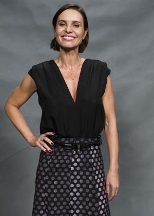 A atriz Paula Burlamaqui - Caiuá Franco/TV Globo