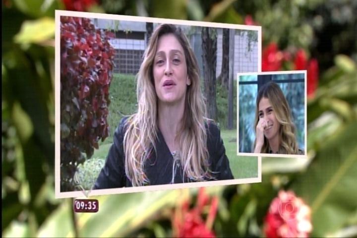 Atriz Giovanna Antonelli recebe homenagem da diretora Amora Mautner