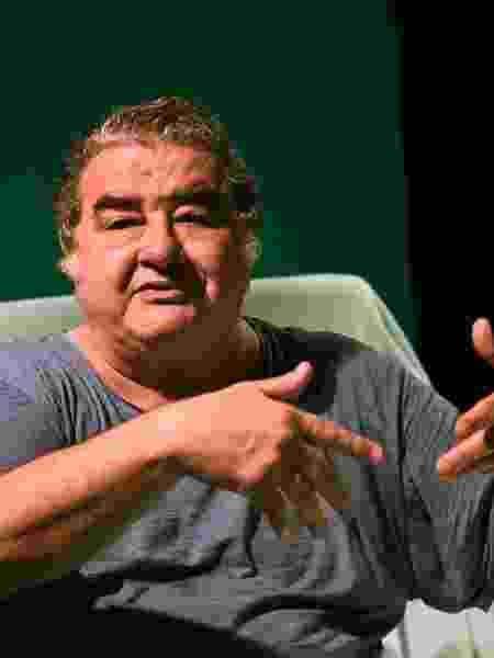 """Otávio Augusto após ensaio do espetáculo """"A Tropa"""", em cartaz no CCBB, no Rio - André Durão/UOL"""