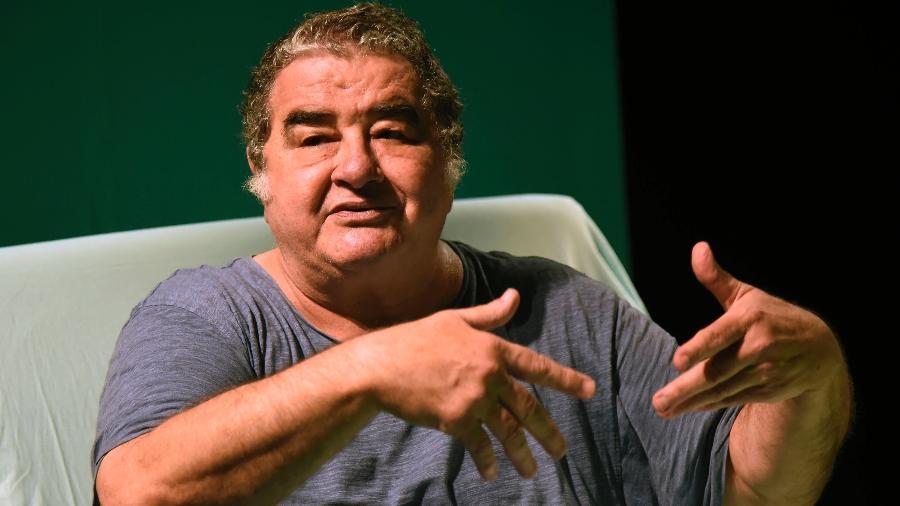 O ator Otávio Augusto - André Durão/UOL