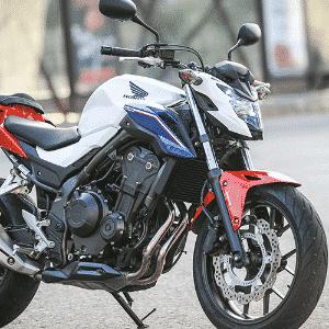 Honda CB 500F 2017 - Divulgação