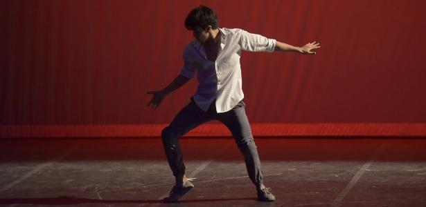 João Vitor Palma apresenta solo de danças urbanas no Festival de Joinville de 2014 - Arquivo pessoal
