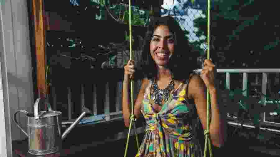 A aprentadora Bela Gil revelou em seu perfil no Snapchat que não usa mais absorventes e coletores menstruais - Ricardo Borges/Folhapress