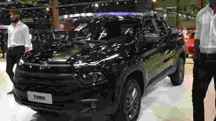 Fiat Toro Blackjack - André Deliberato/UOL - André Deliberato/UOL