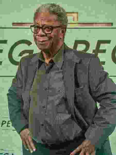 O ator Milton Gonçalves, que já foi candidato a governador do RJ - Mauricio Fidalgo/TV Globo