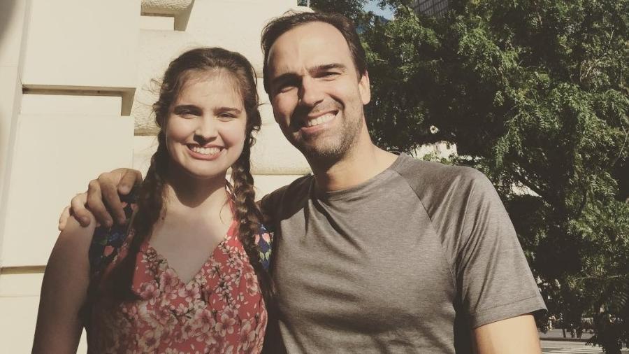 Tadeu Schmidt posa com a filha, Valentina, nos Estados Unidos - Reprodução/Instagram/tadeuschmidt