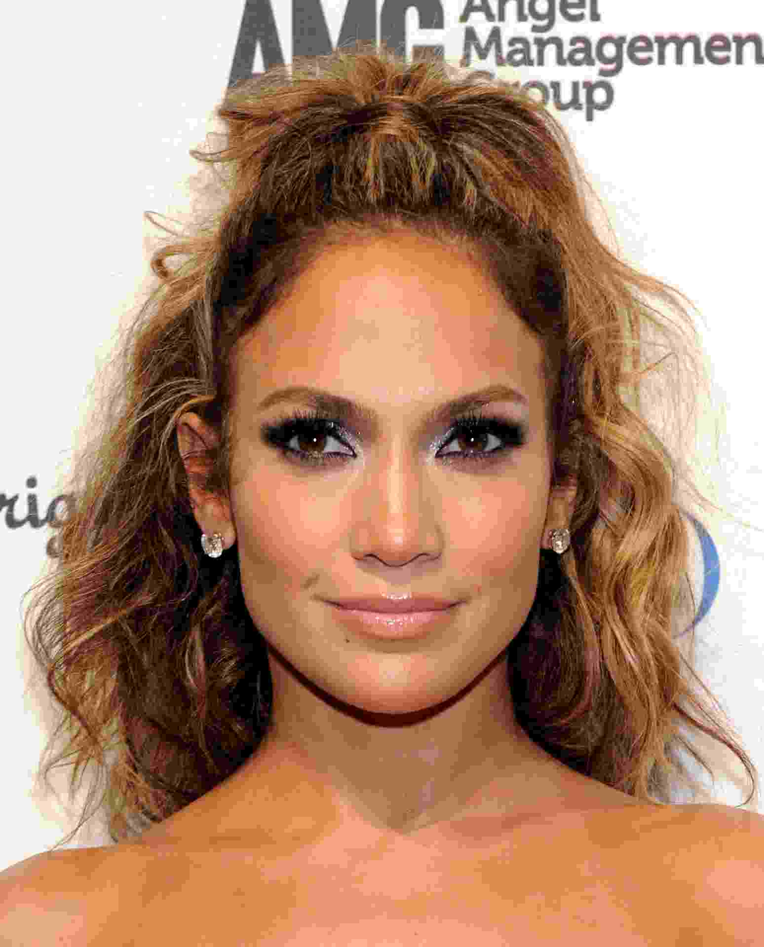 Jennifer Lopez Baby Hair - Getty Images