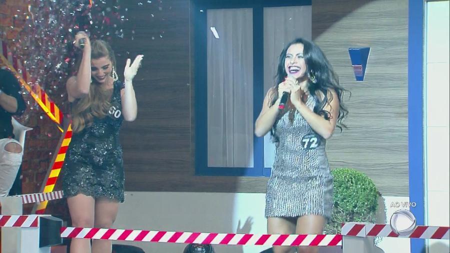 """Garota fitness Thais Guerra vence o reality show """"A Casa"""", da Record - Reprodução/Record"""