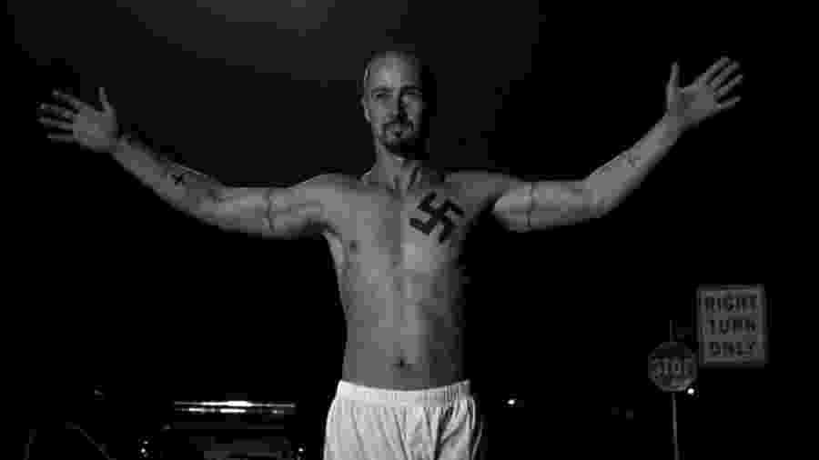 """O ator Edward Norton em cena do filme """"A Outra História Americana"""" (1998) - Divulgação"""