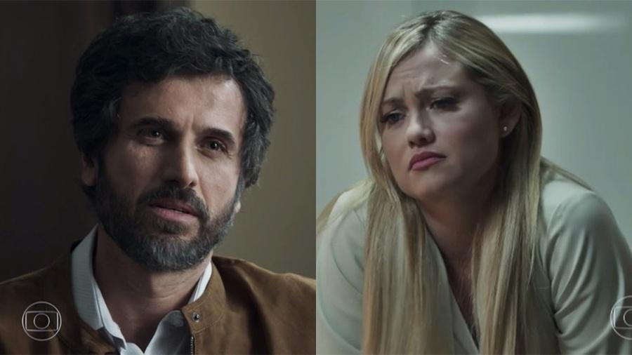 Samuel deixa Suzy frustrada ao falhar na hora H - Reprodução/Globo
