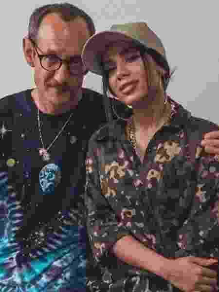 Terry Richardson e Anitta - Reprodução/Instagram