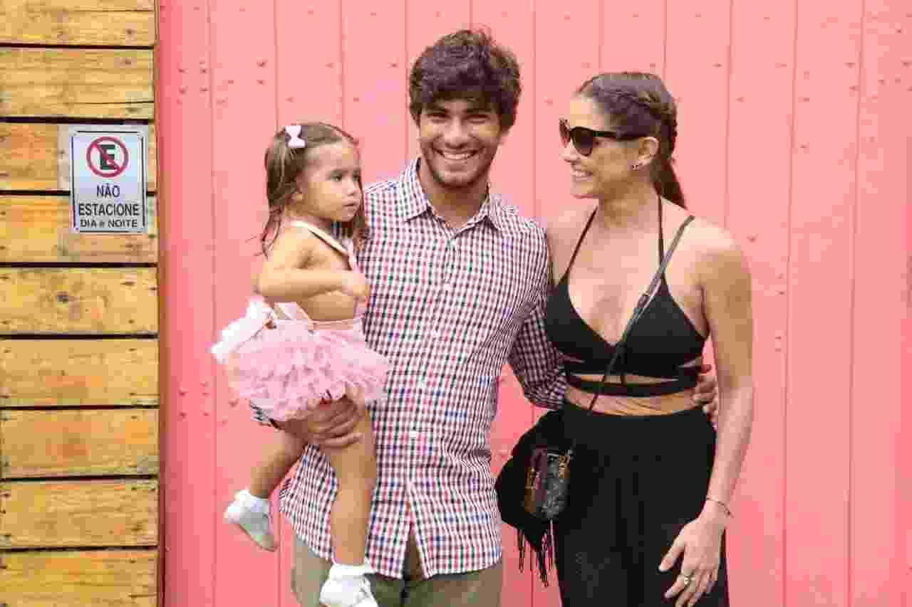 Maria Flor, filha de Deborah Seccco, ganha festa de aniversário - Daniel Pinheiro/AgNews