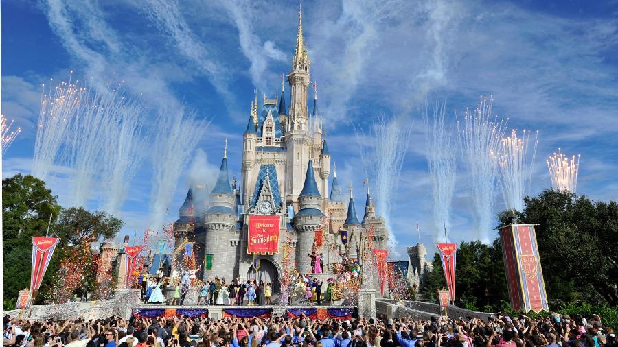 O castelo da Cinderela, no Walt Disney World - Getty Images