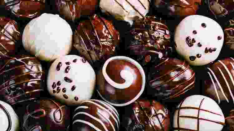 Doces, chocolate, bombom - Getty Images - Getty Images