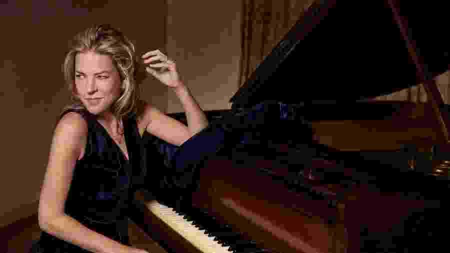 A cantora e pianista canadense Diana Krall - Divulgação
