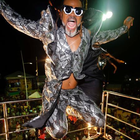Carlinhos Brown no Carnaval de Salvador - Secom