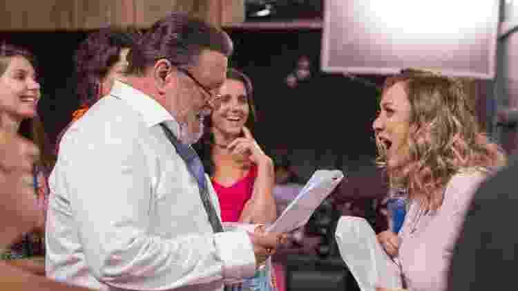 O Outro Lado do Paraíso - leitura  - João Miguel Junior/TV Globo - João Miguel Junior/TV Globo