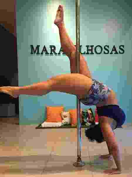 Fernanda Ferrão enche suas redes sociais de fotos para estimular outras mulheres gordas a dançarem - Arquivo Pessoal - Arquivo Pessoal