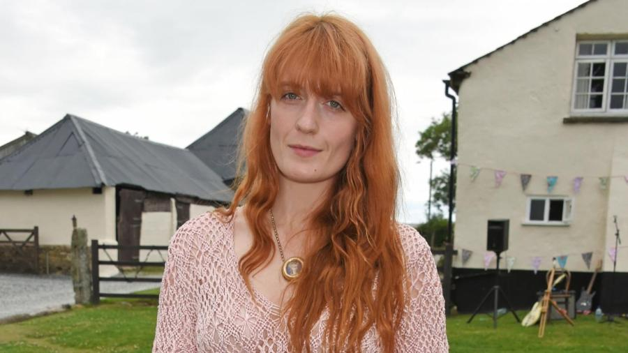 A cantora inglesa Florence Welch, gente como a gente - Getty Images